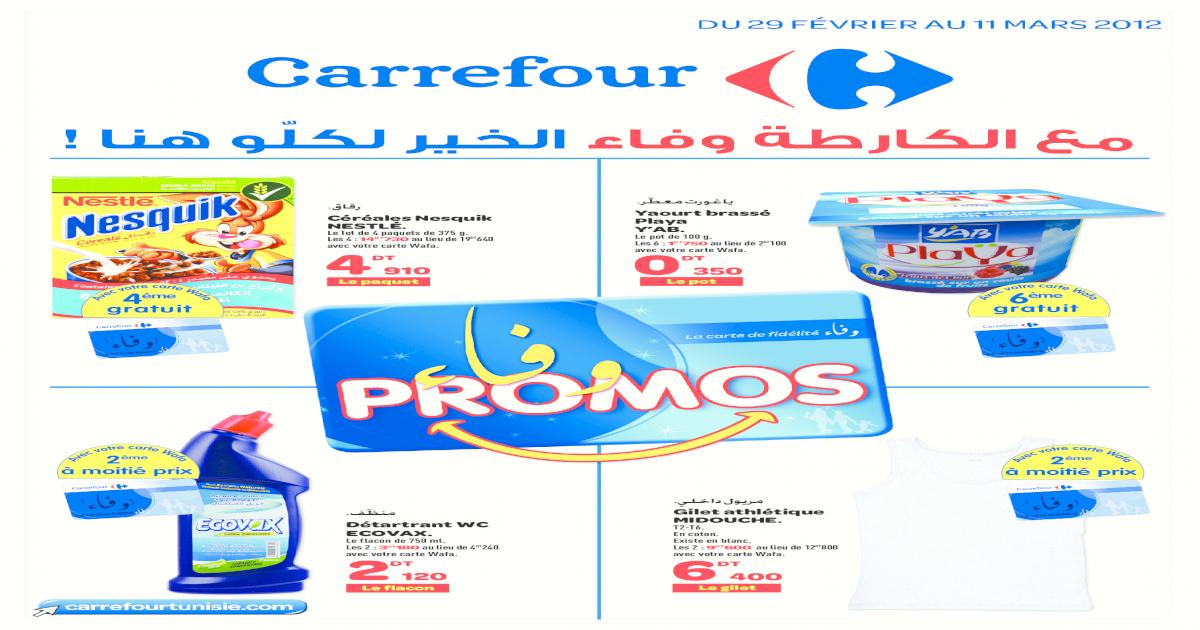 Catalogue Carrefour Fidlit