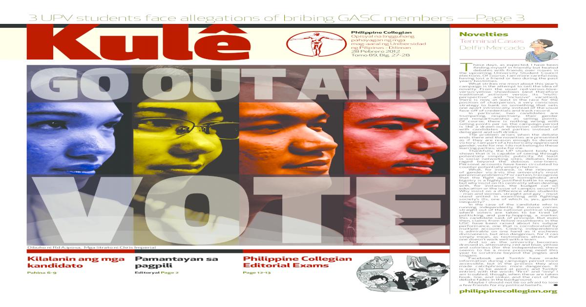 Philippine Collegian Issue 27-28