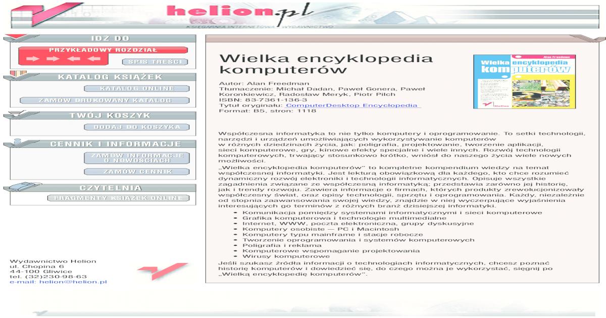 Encyklopedia komputerw