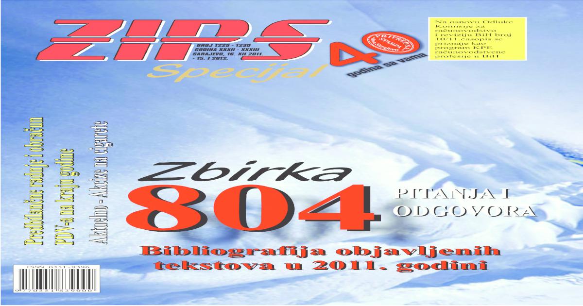 2011 Zbirka Pitanja I Odgovora Pdf