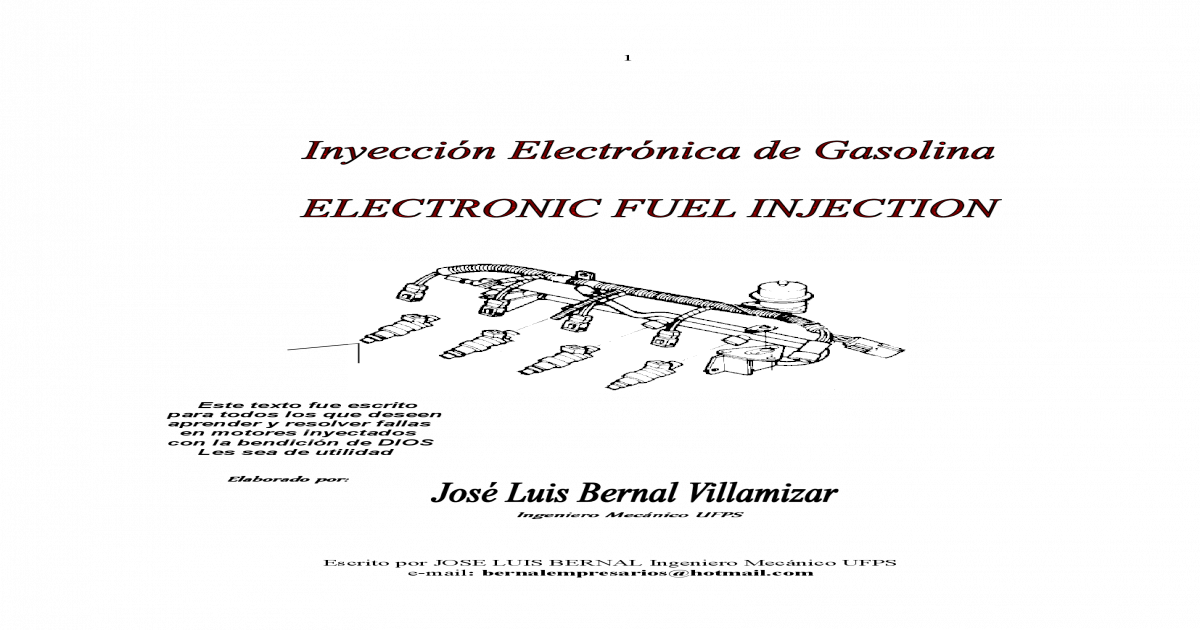 inyeccion electronica de combustible